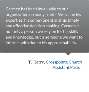 Crosspointe Church Testimonial